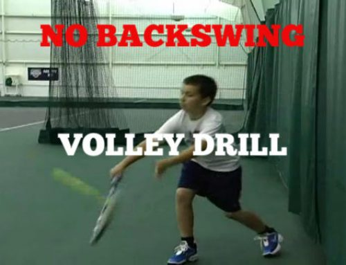 No Back Swing Volleys