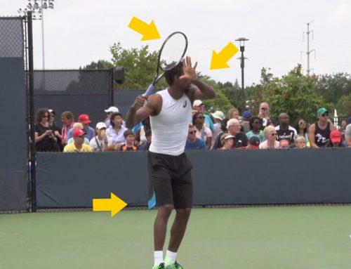 Gael Monfils Tennis Forehand Analysis