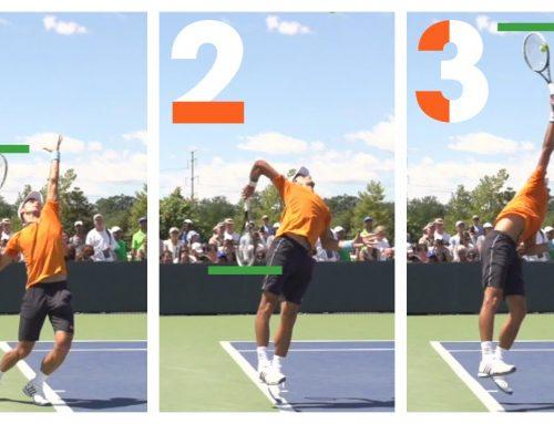 A Better Racquet Drop On The Tennis Serve