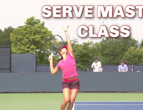 Pennetta Serve | Master Class