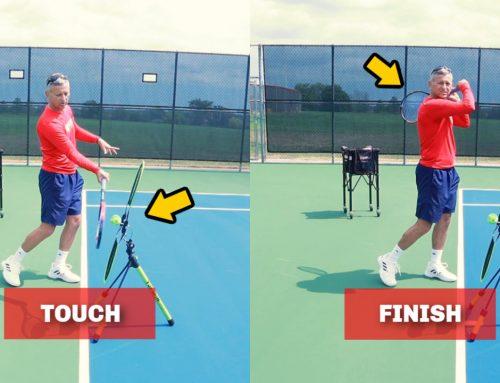 The Beginner Forehand In Tennis