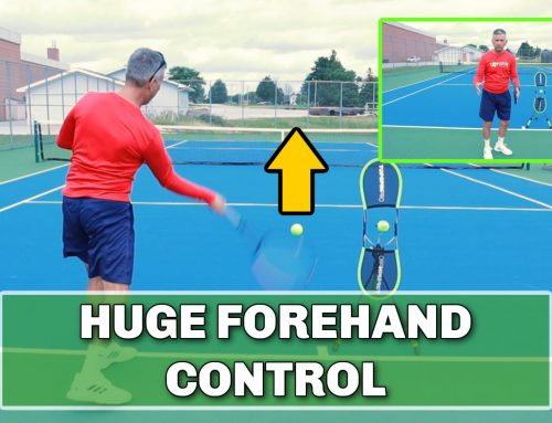 Get Better Control and Feel On Your Tennis Forehand