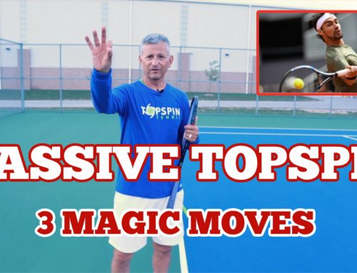 3 Magic Moves For Massive Topspin